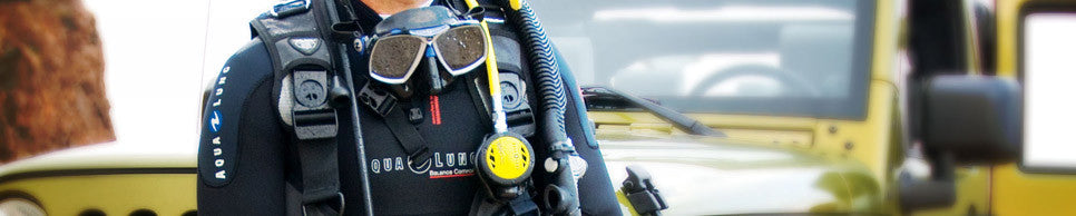 Get accessorised with the latests scuba diving add-ons from Apeks, Aqua Lung, Scubapro, Bigblue, Cressi and Mares.