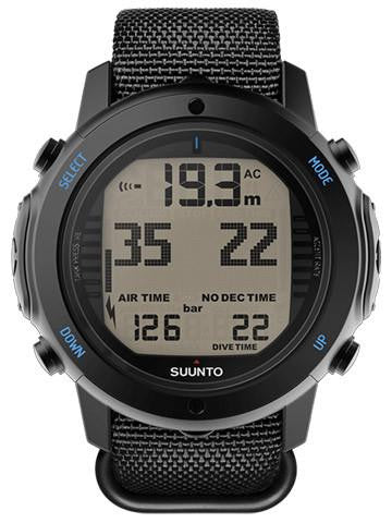 Suunto D6i Novo Black Zulu With USB