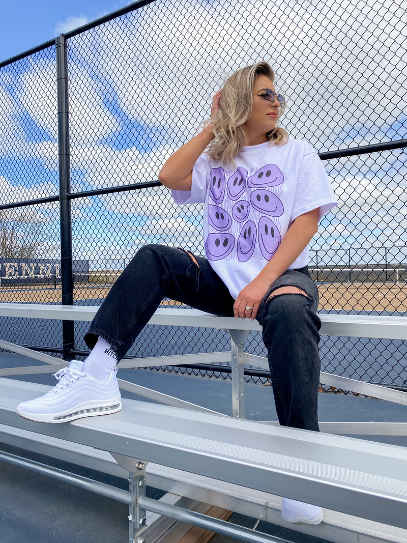 Smiley Graphic Tee