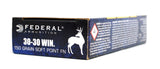 FEDERAL 30-30 WIN POWER SHOK 150GR JSP 3030A 20 RDS