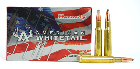 HORNADY WHITETAIL 30-06 SPRINGFIELD 150GR 8108 20 RDS