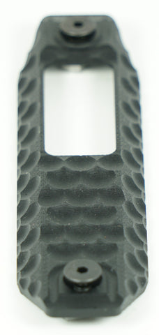 RAILSCALES XOS-H TYPE 01 G10 MLOK HONEYCOMB 3 SLOT BLACK