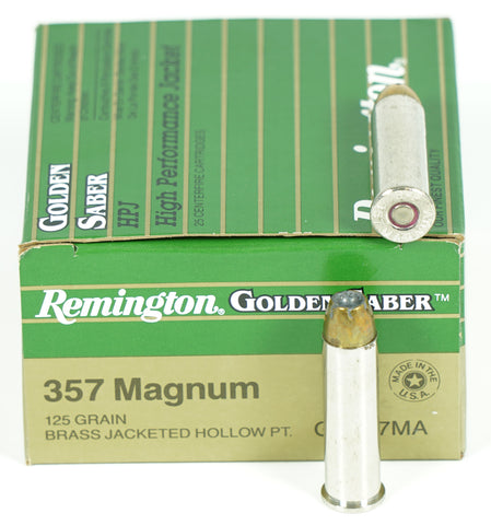 REMINGTON 357MAG 125GR JHP 29400 (GS357MA) 25 RDS