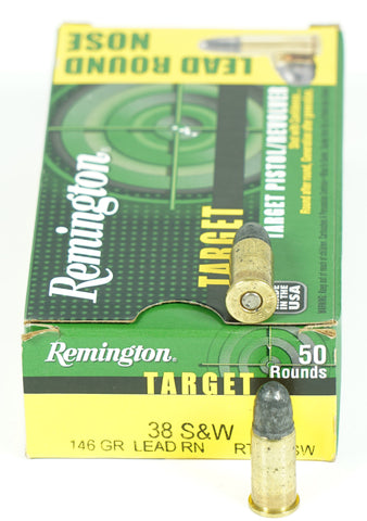 REMINGTON 38S&W LRN 146GR 22277 (RTG38SW) 50 RDS
