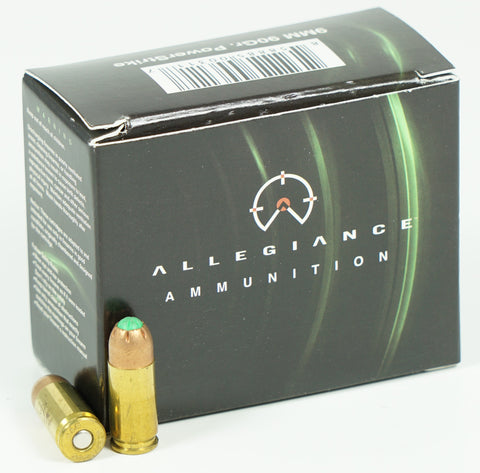 ALLEGIANCE POWER STRIKE 90GR 9MM 9PS90 20 RDS