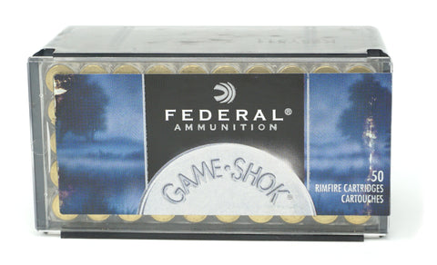 FEDERAL 757 GAME SHOK 22 WMR 50 GR JHP 50 RDS