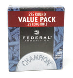 FEDERAL 22LR 36GR COPPER PLATED HP 745 525 RDS