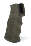 HOGUE AR15 ODG RUBBER FINGER GROOVE