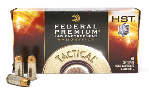 FEDERAL 40 S&W HST 180GR LE TACTICAL P40HST1 50 RDS