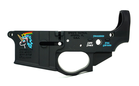 SPIKE'S STRIPPED LOWER (COLOR SNOWFLAKE)