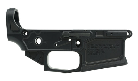 ZEV TECHNOLOGIES BILLET LOWER RECEIVER ZEV-BL MULTI CAL BLACK