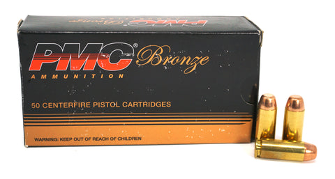 PMC BRONZE 10MM CONE FMJ 200GR 10A 50 RDS