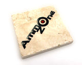 AMMOZONE TRAVERTINE COASTER