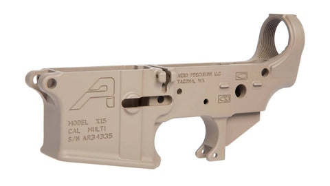 AERO APAR501302C X15 GEN2 FDE LOWER RECEIVER