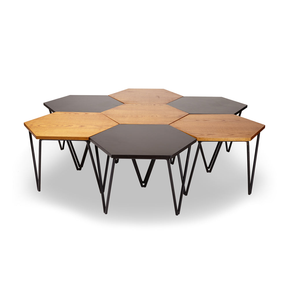A Set of 7 Low Tables, Gio Ponti, 1950s