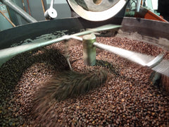 The roasting process of INFUSCO Coffee Roasters