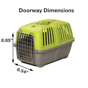 "22-Inch Ideal for ""XS"" Breeds Spree Hard-Sided Pet Carrier MidWest -"