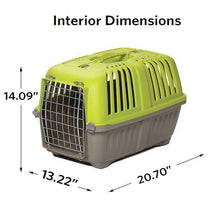 "Load image into Gallery viewer, 22-Inch Ideal for ""XS"" Breeds Spree Hard-Sided Pet Carrier MidWest -"