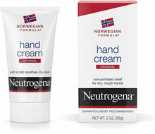 Load image into Gallery viewer, 3 pack neutrogena norwegian formula dry hand cream -