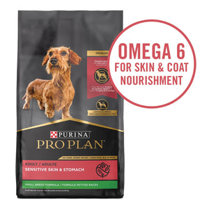 30 lb. Bag High Protein Sensitive Skin & Stomach Small Breed Dry Dog Food -
