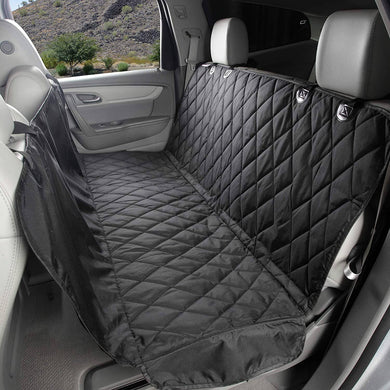 4Knines Dog Seat Cover with Hammock for Cars, Small Trucks -