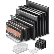 Load image into Gallery viewer, Acrylic Makeup Eyeshadow Palette Organizer -