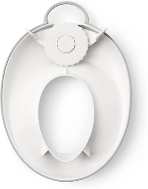 BABYBJORN Toilet Trainer, White/Gray -