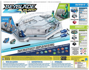 BEYBLADE BURST Avatar Attack Battle Set inc 2 Battling Tops Kids Toys -