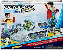 Load image into Gallery viewer, BEYBLADE BURST Avatar Attack Battle Set inc 2 Battling Tops Kids Toys -