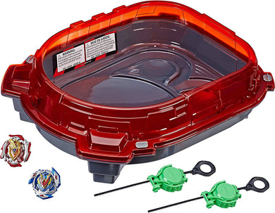 Beyblade Burst Turbo Slingshock Rail Rush Battle Set -