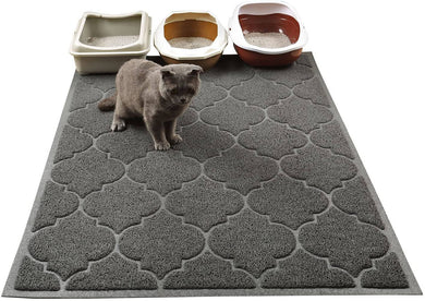 Cat Litter Mat, XL Super Size, Phthalate Free, Easy to Clean, Durable, Soft -