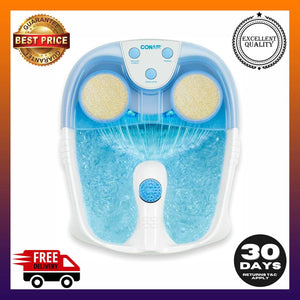 Conair Active Life Waterfall Foot Spa with Lights and Bubbles Blue -