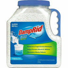 Load image into Gallery viewer, DampRid Moisture Absorber Refill 3.4kg Bulk Fragrance Free Damp Rid -