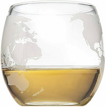 Load image into Gallery viewer, Decanter SET Airplane Globe Set with 2 World Whisky Glasses USA IMPORT gift set -