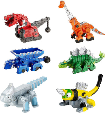 Dinotrux Bundle Ty Rux, Garby Ton-Ton, Skya Revvit Ace Die-Cast Vehicles -