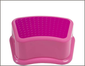 Disney Princess Potty Training Combo Kit - Contour Step Stool & Soft Potty, Pink -