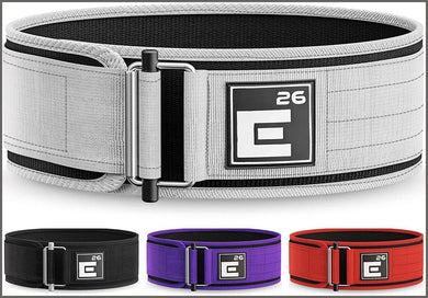 Element 26 Self-Locking Weight Lifting Belt | Premium Weightlifting Belt -