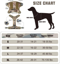 Load image into Gallery viewer, FIVEWOODY Tactical Service Dog Harness Training No Pulling Front Clip -