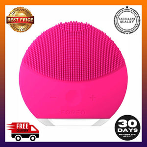 FOREO Luna Mini 2 Facial Cleansing Brush and Skin Care device made Soft Silicone -