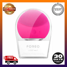 Load image into Gallery viewer, FOREO Luna Mini 2 Facial Cleansing Brush and Skin Care device made Soft Silicone -