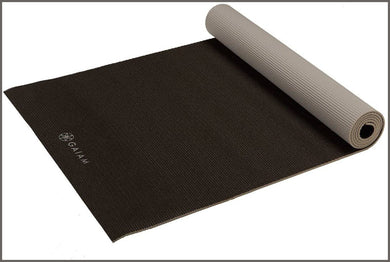 Gaiam Yoga Mat - Solid Color Exercise & Fitness Mat -