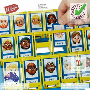 Guess Who Classic  the original guessing game 2 Players Board Games Kids UK SHIP -