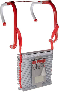 Kidde 468094 Three-Story Fire Escape Ladder with Anti-Slip Rungs, 25-Foot -