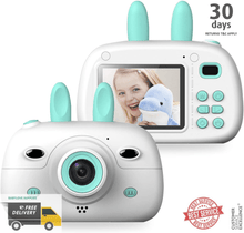 Load image into Gallery viewer, Kids Digital Video Camera Front and Rear Selfie 8MP Mini Rechargeable Camcorder -