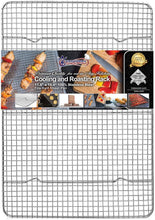 Load image into Gallery viewer, KITCHENATICS Professional Grade Stainless Steel Cooling and Roasting Wire Rack -