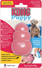 Load image into Gallery viewer, KONG  Puppy dog Toy  Natural Teething Rubber Chase and Fetch play -