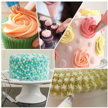 Load image into Gallery viewer, Kootek 22 Pcs Cake Decorating Kit with 12 Inch Aluminum Alloy Revolving Cake -