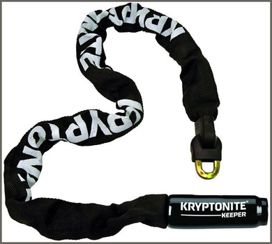 Kryptonite Keeper 785 Integrated Bicycle Lock Chain Bike Lock, 33.5-Inch -