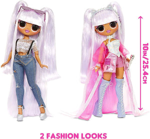 L.O.L. Surprise! O.M.G. Remix with 25 Surprises Collectable Fashion Doll Kitty K -