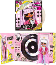 Load image into Gallery viewer, L.O.L. Surprise! O.M.G. Remix with 25 Surprises Collectable Fashion Doll Kitty K -